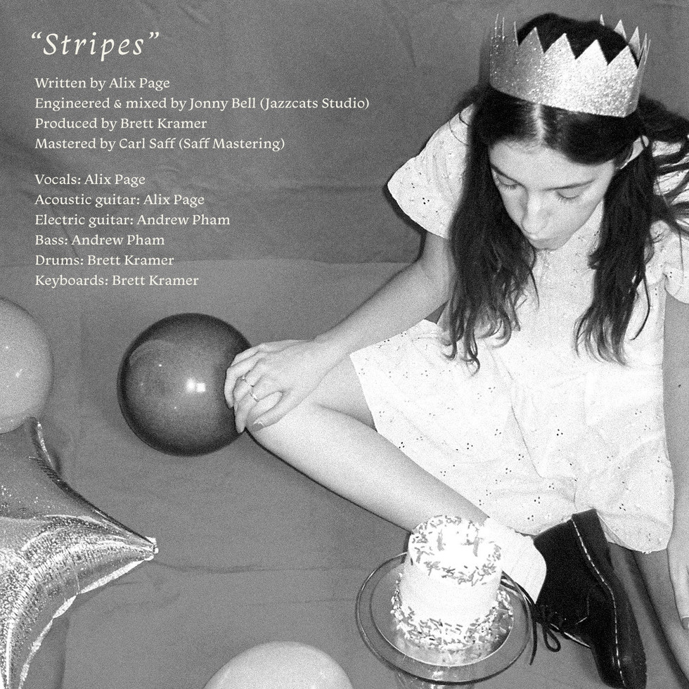 """Stripes"" by Alix Page Song Credits"