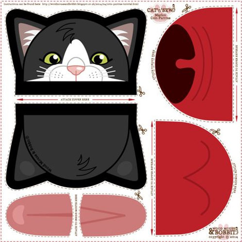 Cat'n'Sew Coin Purse