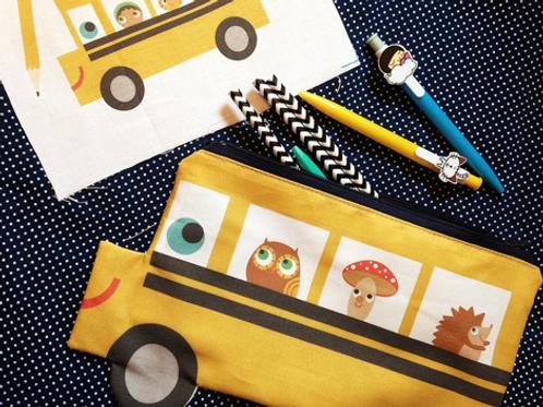 Bus Pencil Pouch
