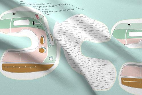 Sewing Machine Travel Pillow