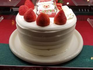 今年のケーキです!