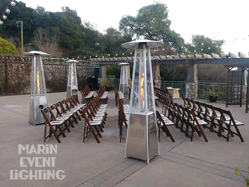 Patio Heaters at Wedgewood Stone Tree