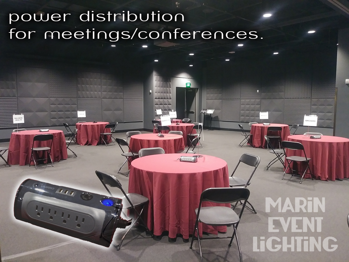Meeting Services Power Distribution