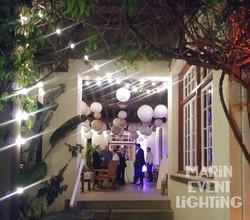 Ralston Porch with Lanterns