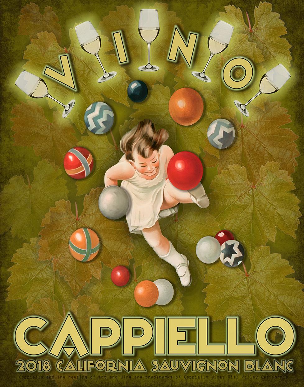 Cappiello 2018 Sauvignon Blanc Poster