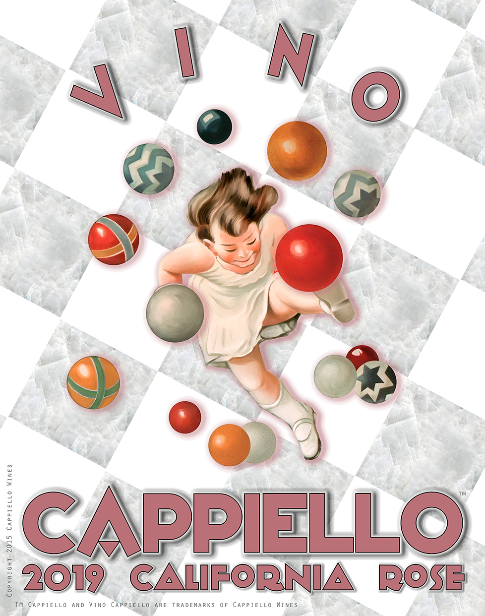 Cappiello Rose Poster 2019 Rose