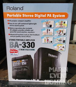 Portable PA System for rent