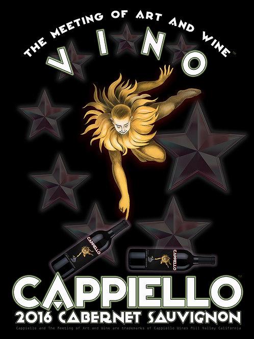 """Limited Edition 22"""" x 30"""" Cappiello Wines Cabernet Fine Art Print"""