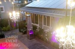 Marin Event Lighting crystal chandeliers
