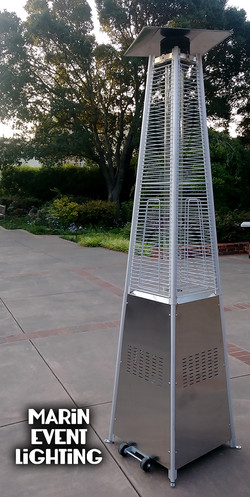 Torch Pyramid Patio Heaters Marin Event
