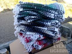 Mexican Yoga Blankets