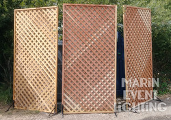 Panel dividers from Marin Event Lighting