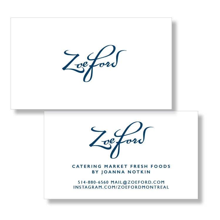 Zoe Ford Business Card
