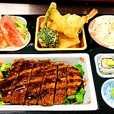 Tonkatsu lunch box