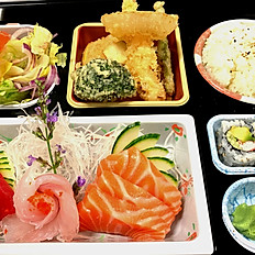 sashimi lunch box
