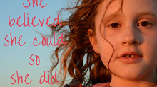 Give EVERYTHING a Go:  A Lesson in Perseverance from my 9 Year Old Daughter