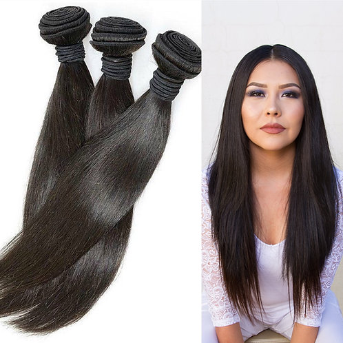8A Peruvian Straight Hair (choose your color)