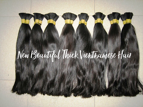 New! Vietnamese Weft Hair