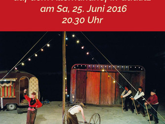 """""""Hans im Glück"""". Wandertheater TonUndKirschen"""