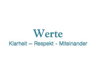 Werte: Klarheit – Respekt - Miteinander - Experimentierfeld mit Meena Knierim