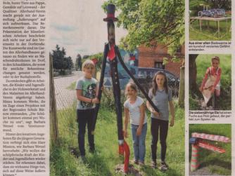 """""""Ein Dorf wird zum Kunstmuseum"""""""