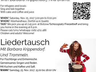 Liedertausch mit Barbara Krippendorf