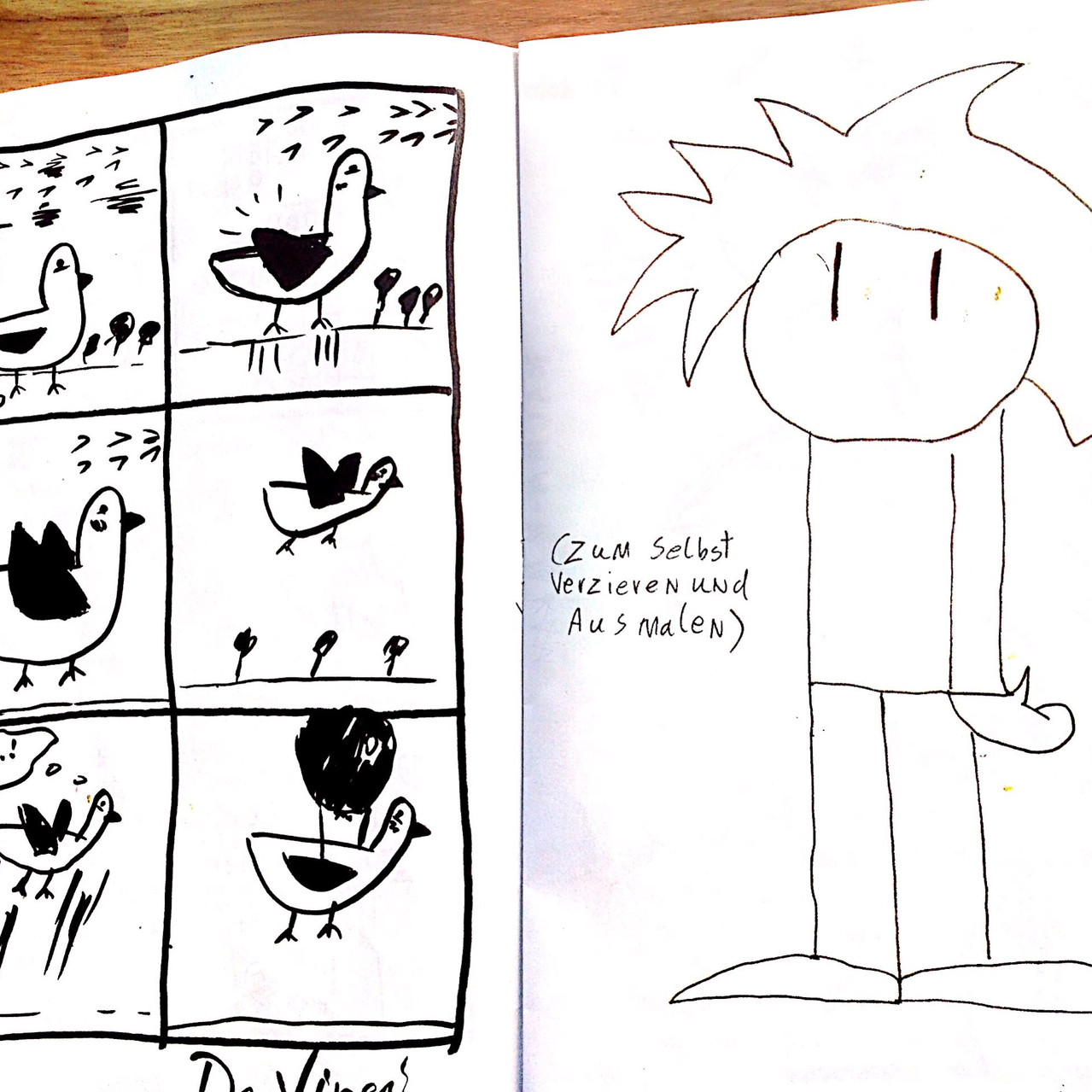 Erstes fertiges Comic: DaVinci
