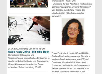 Allerhand Newsletter April und Mai 2019
