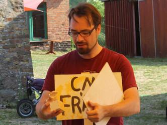 VORSICHT!LÖSUNGEN2: Von der Idee im Kopf bis zum Ding in der Hand. CNC-fräsen und 3D-drucken