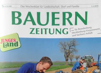 Allerhand in der Bauernzeitung für Brandenburg, M-V, Sachsen-Anhalt