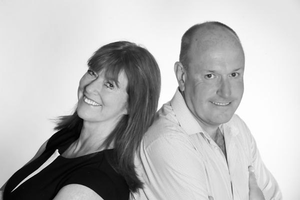 Beverley Thompson and Peter Lindsey from Ignite PR & Engagement