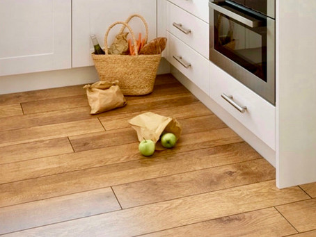 Real Oak Floor versus Ceramic Tiles