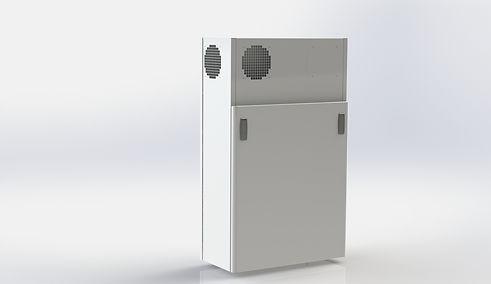 Litet rumsaggregat för 140 kvadratmeter - Kuben Ventilation