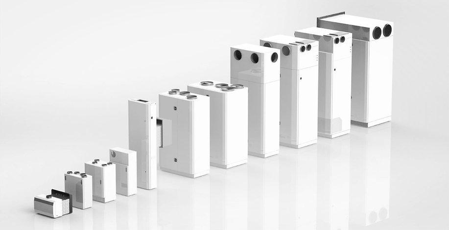 Kuben Ventilations ventilationsaggregat