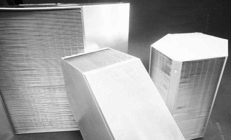 Kuben Ventilation värmeväxlare och aggregat med värmeåtervinning.