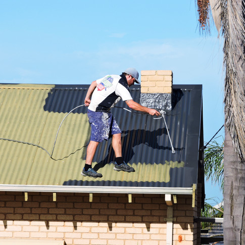 Spraying roof 2