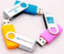 Branded USB TwisterStick