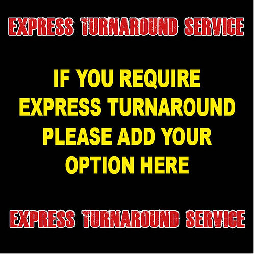 Express 48 Hour Turnaround