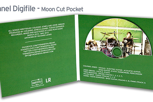 Mooncut Digifile with CD or DVD