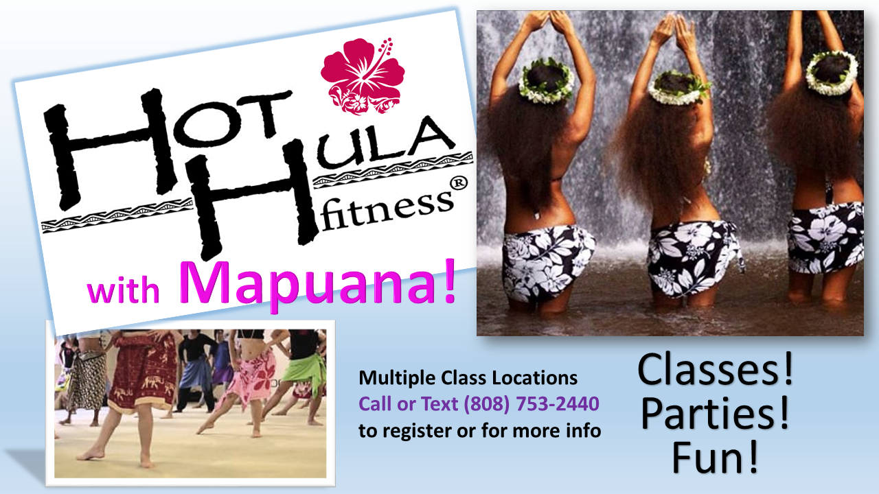 Hot Hula Fitness w Mapuana