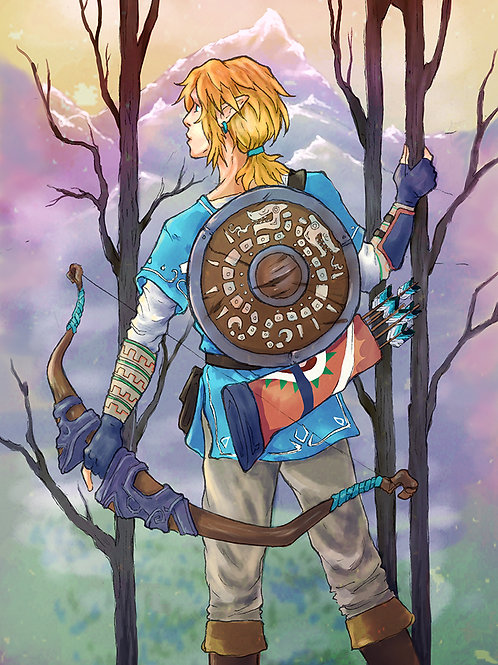 Link: Three of Wands