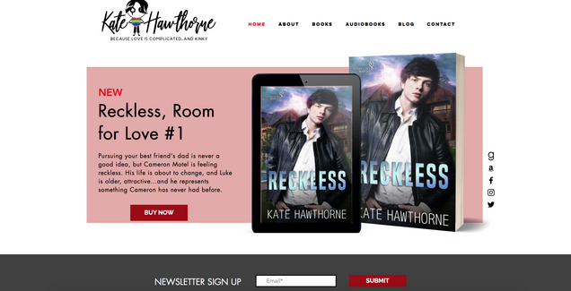 Kate Hawthorne's Website