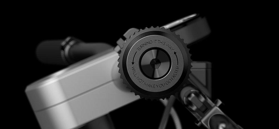 poignée de vélo design, guidon vélo design