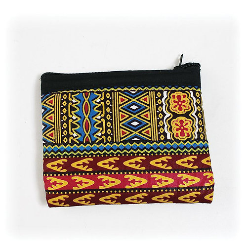 Quilted Kiteage Coin Purse