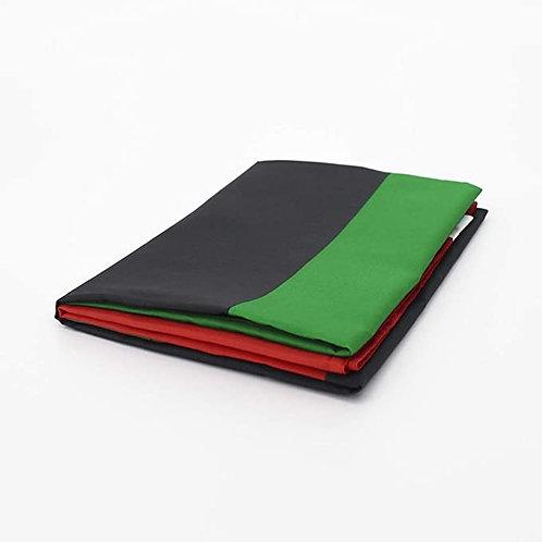 Red, Black & Green Flag