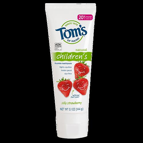 Tom's Silly Strawberry Children's Toothpaste