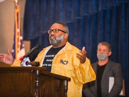 Racial Justice Advocates Decry Anti-Protest Senate Bill #26 at Missouri State Hearing