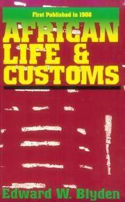 African Life & Customs