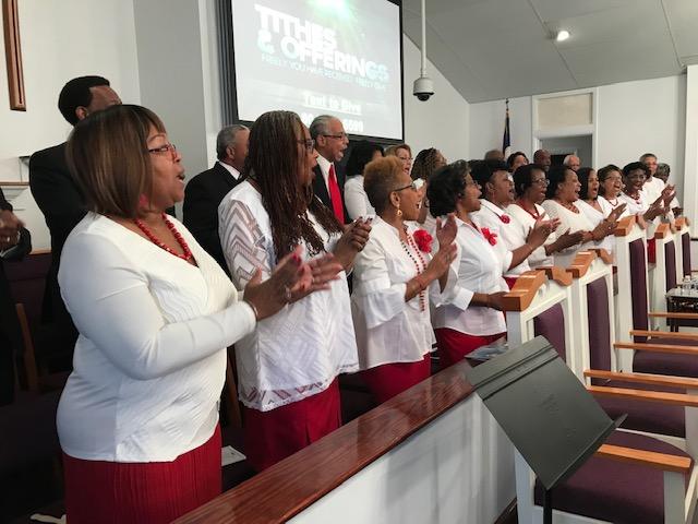 Gospel Chorus Sanctuary