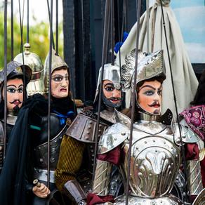 All'Etnamusa Festival l'Opera dei Pupi dei Fratelli Napoli: le marionette della tradizione catanese